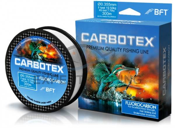 FIR CARBOTEX FLUOROCARBON 0.40mm 16.60kg 30m