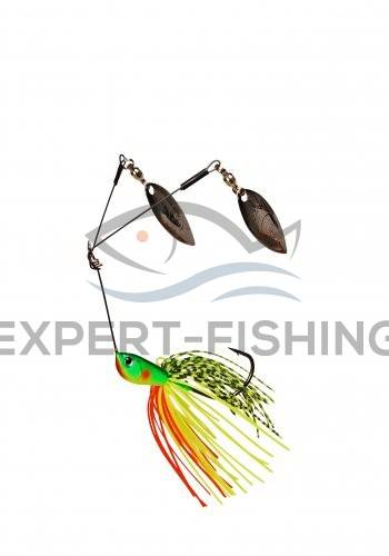 DAM EFFZETT TWIN SPINNERBAIT 14gr FIRE TIGER