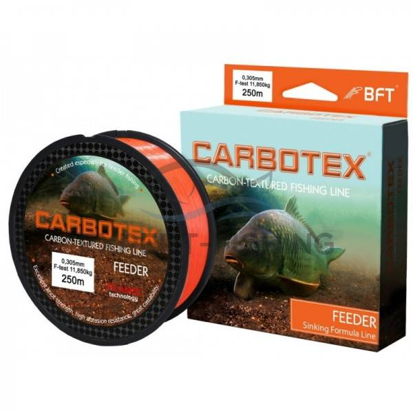 FIR CARBOTEX FEEDER ORANGE 0.18mm 250m