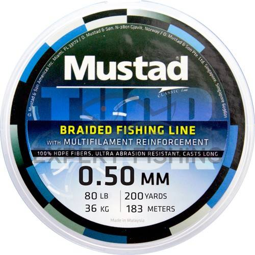 FIR MUSTAD THOR BRAID 0.18mm/13.65kg/110m