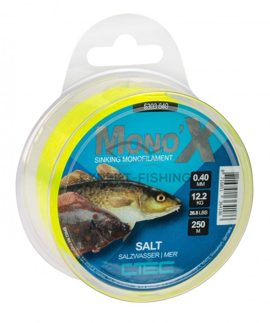 FIR SPRO C-TEC SALT YELLOW 0.45mm 13.0kg 250m
