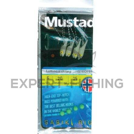 TAPARINA MUSTAD LUMINOUS SHRIMP NR 4 SCRUMBIE